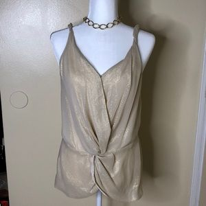 NWT GREYLIN SPARKLY TOP WOMEN'S SIZE L